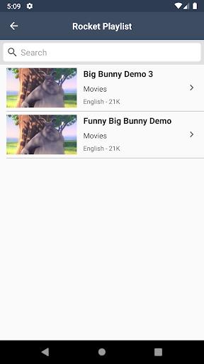 Rocket Media Live TV Player 3.3 screenshots 2
