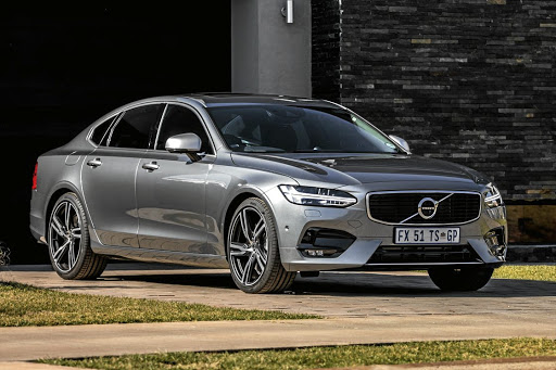 The S90 R-Design is an executive Volvo with a bit more attitude. Picture: QUICKPIC