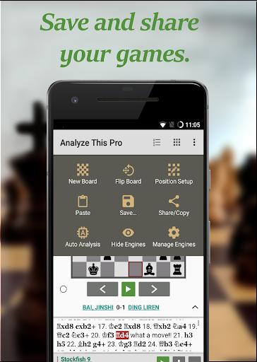 Chess - Analyze This (Pro)  screenshots 2
