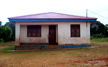 Photo: The school house when I arrived
