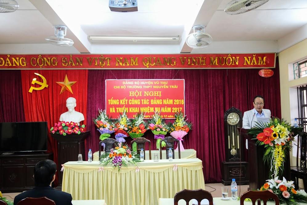 Hội nghị tổng kết công tác Đảng năm 2016 và Triển khai nhiệm vụ năm 2017