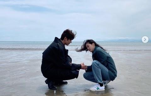 Lee-Min-ho-Kim-Go-eun-Instagram