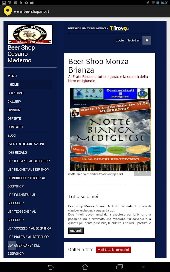 Beer Shop MB- screenshot