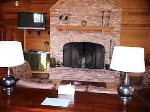 Photo: Lodge Fireplace