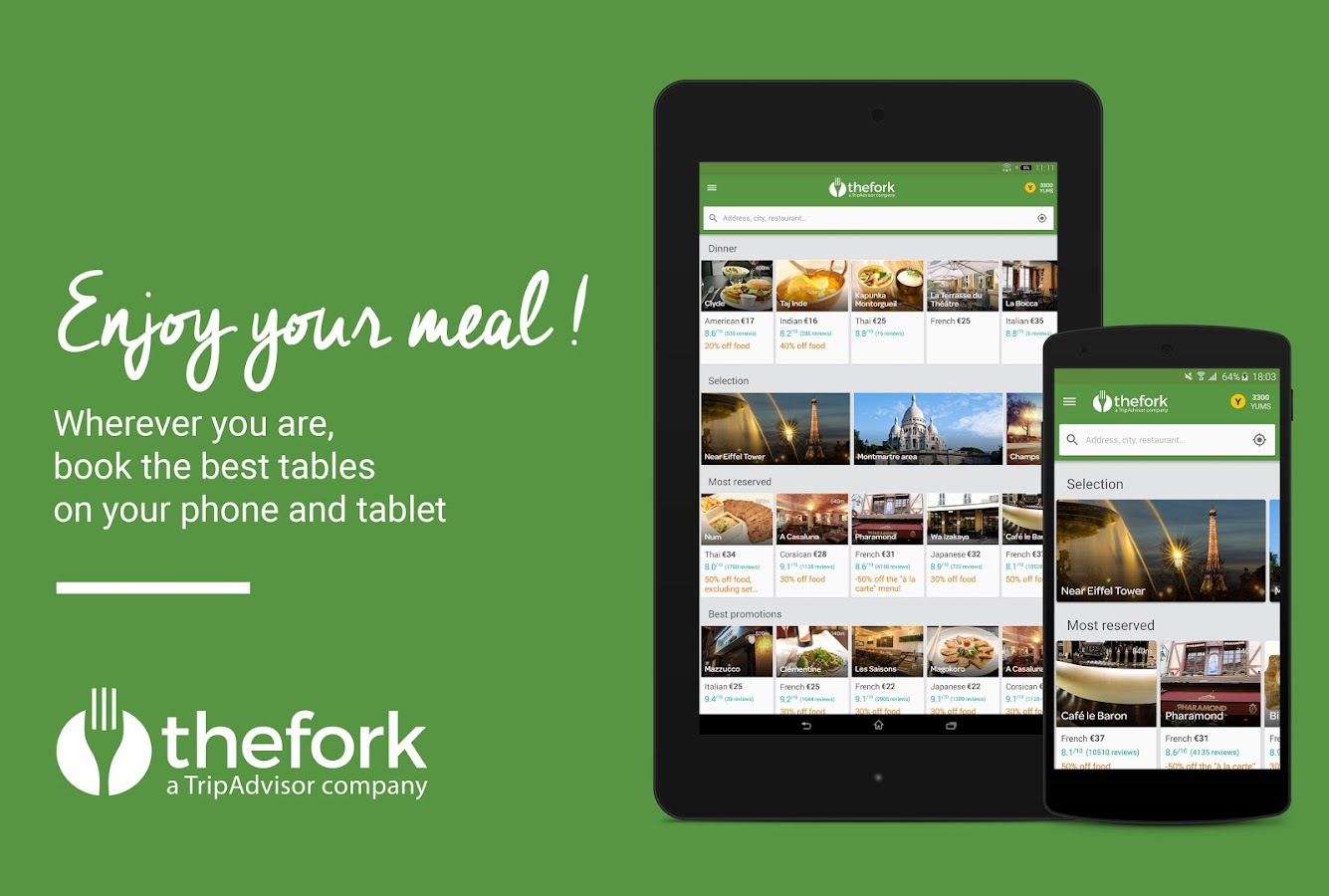 TheFork - Restaurants booking – Screenshot