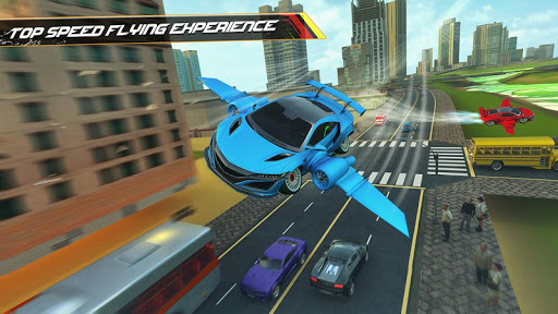 Flying Car Driving 2020 - Ultimate Cars 1.1 screenshots 1