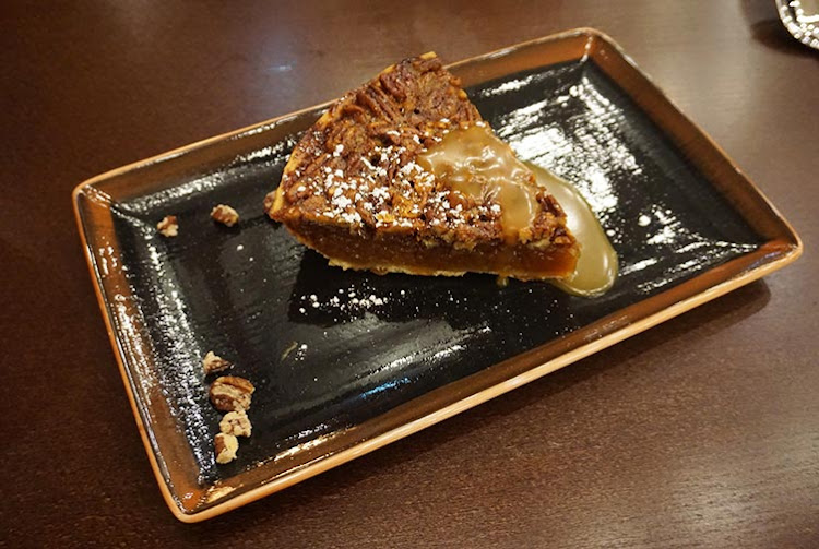 A pecan pie was the perfect way to top off the meal at Q.