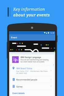 IBM Conference App - náhled