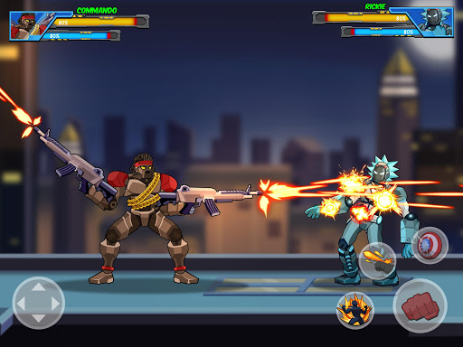 Robot Super: Hero Champions 1.0.8 screenshots 13