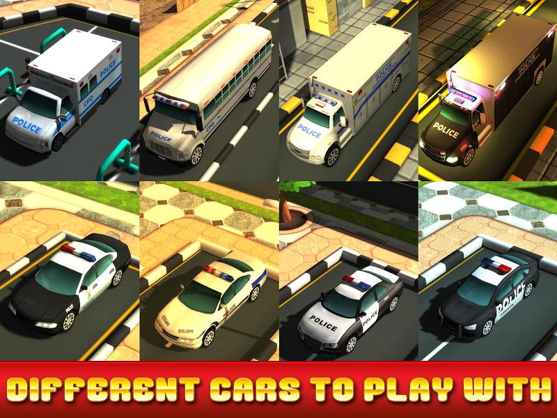 Скриншот Police Car Parking Simulator