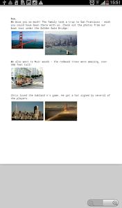 Spletter - send mail & photos screenshot 14