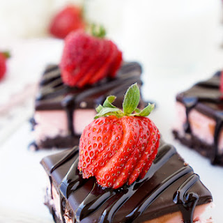 Strawberry Layer Brownies
