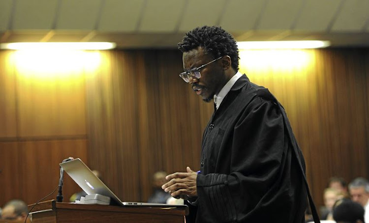 "The Economic Freedom Fighters (EFF)' represented by Advocate Tembeka Ngcukaitobi' argued that the decisions by the state attorney to grant funding for Zuma's 2006 and 2008 criminal cases were ""egregious"""