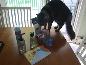 Photo: My cat sniffed it all carefully, as she does with everything I bring home!