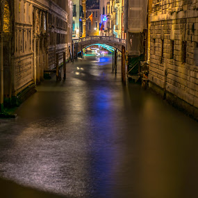 Near the Bridge of Sighs, Venice by Hariharan Venkatakrishnan - City,  Street & Park  Historic Districts