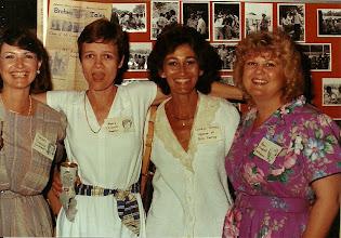 Photo: Barbara Pederson DeWinne, Mary Traud Austin, Carolyn Forney, Pam English Williams