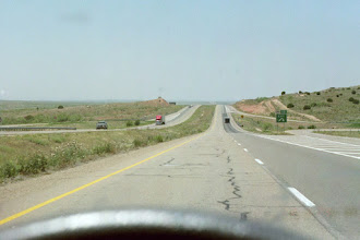 Photo: New Mexico - straight road