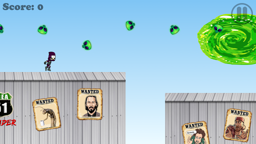 Area 51 Invader Game FREE - screenshot