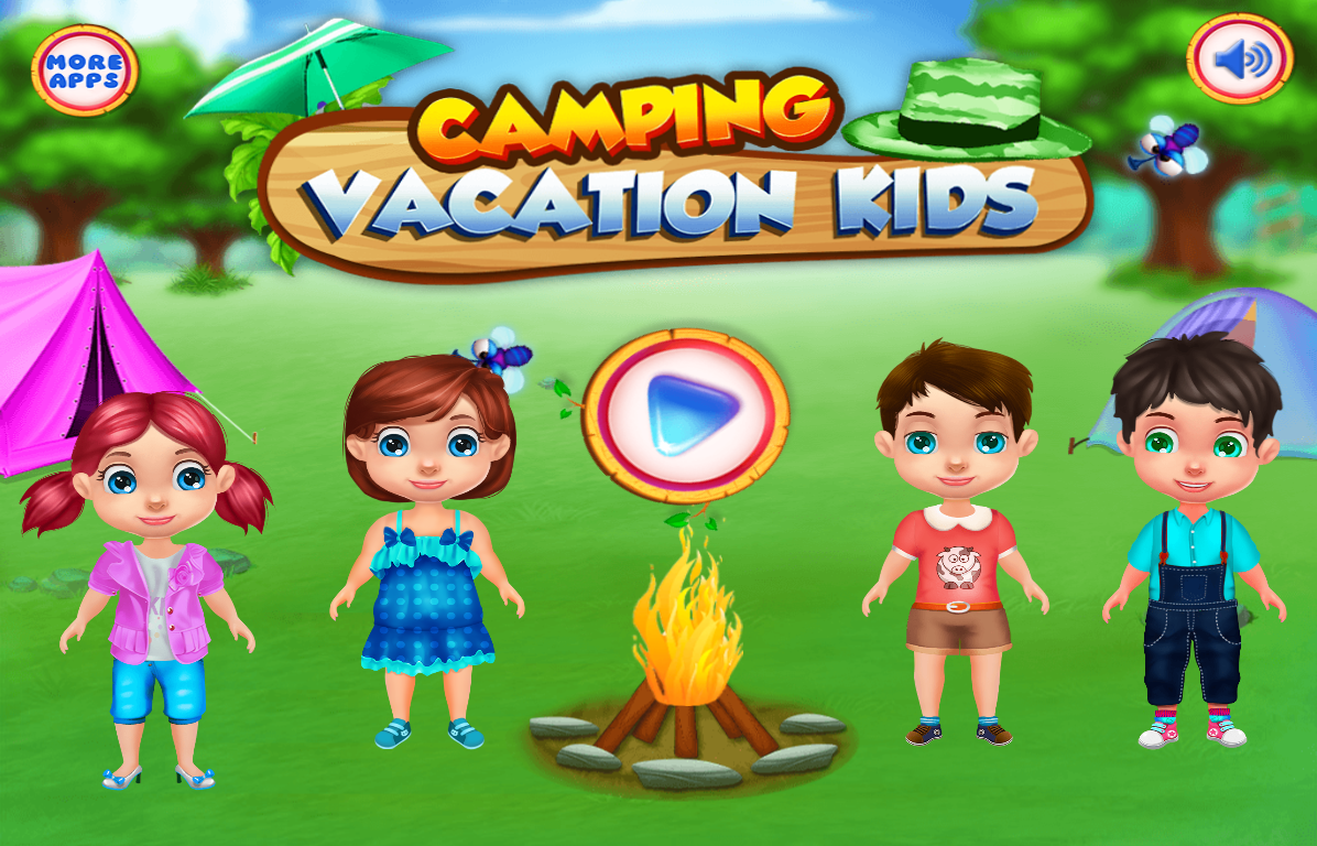 camping vacation kids games android apps on google play