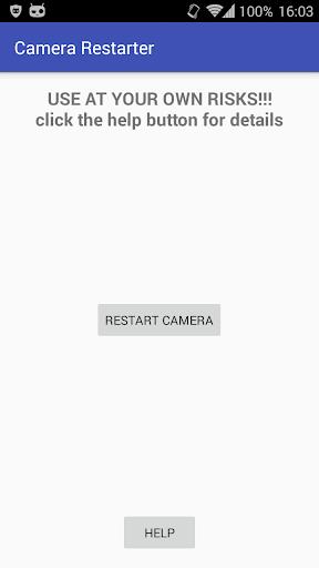 Camera Restarter