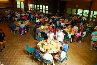 Photo: Tsani Dining Hall during summer camp.