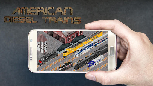 American Diesel Trains: Idle Manager Tycoon 3.9.30 screenshots 1