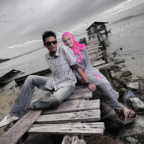 PreWedding by Mohammad Istikharah - Wedding Other ( potrait, prewedding, wedding, perspective, landscape, engagement )