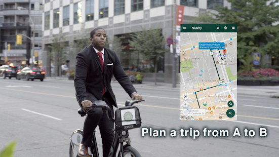 Cycle Now: Bike Share Trip Planner- screenshot thumbnail