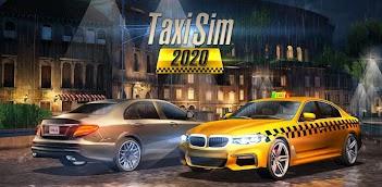 Jugar a Taxi Sim 2020 gratis en la PC, así es como funciona!