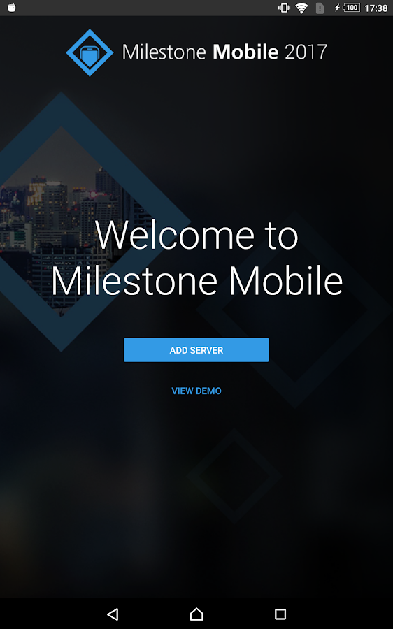 Milestone Mobile- screenshot