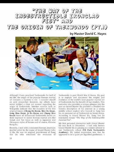 Tae Kwon Do Life Magazine screenshot 9