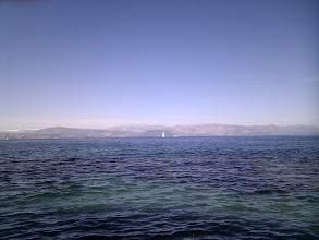 Photo: The colours of Mediteranian. The mountains courtesy of Albania.