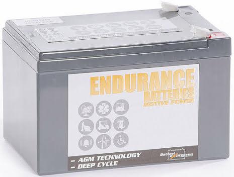AGM Batteri 12V 12,3Ah CCA174A