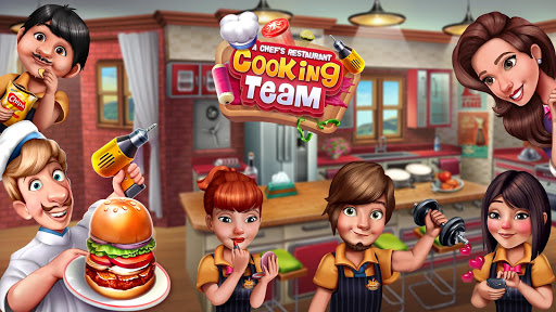 Cooking Team - Chef's Roger Restaurant Games screenshot 14