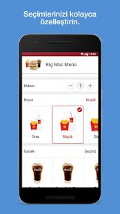 McDonald's Türkiye Ekran Görüntüsü