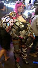 Photo: A ce qu'il parait, c'était son premier cosplay. Such qualité wow