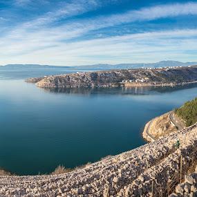 Bakar bay by Ivica Bajčić - Landscapes Travel ( mountain, bakar, vineyard, blue, visiteurope, croatia, sea, visitcroatia, hike )