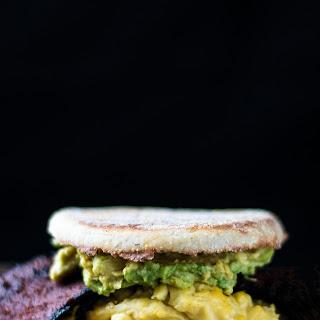 Bodega Breakfast Sandwich with Avocado.