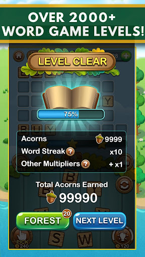 Word Forest - Free Word Games Puzzle 1.010 screenshots 2