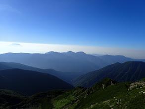 笊ヶ岳方面
