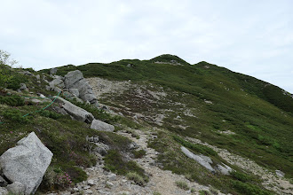 木曽前岳へ