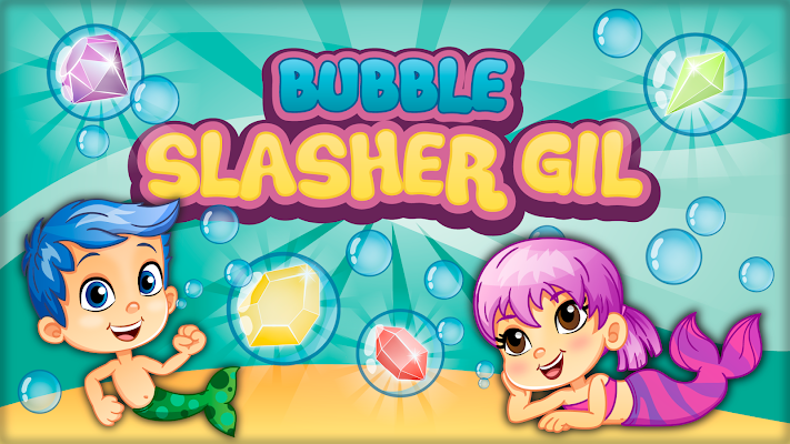 Bubble slasher Guppies - screenshot