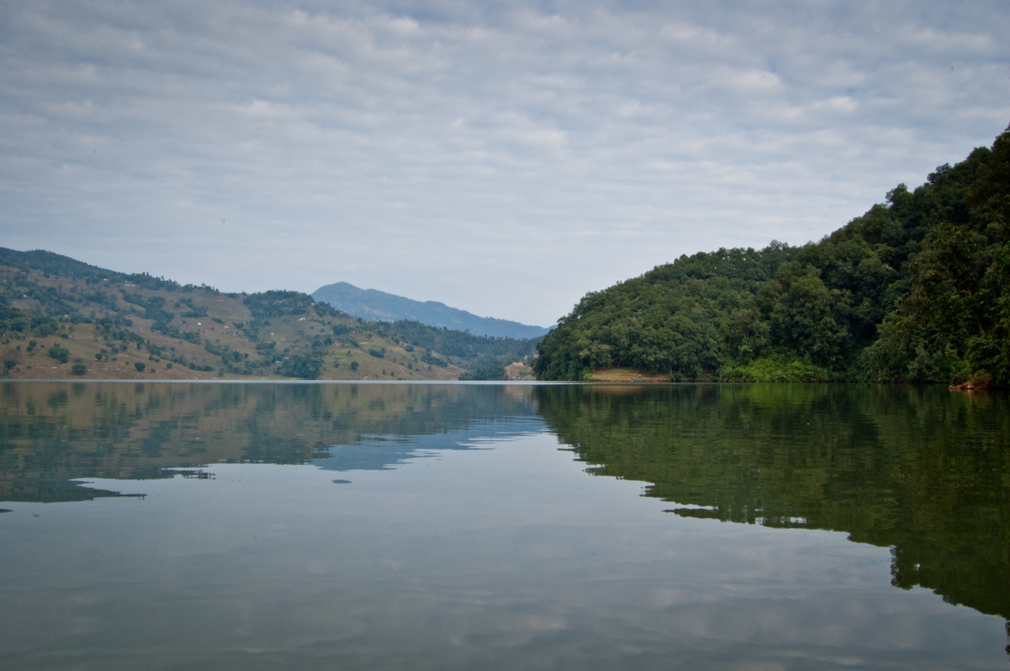 Photo: Begnas Lake  For #MirrorMonday curated by +Gemma Costa and +Elizabeth Edwards . More reflection shots coming today Inshallah!