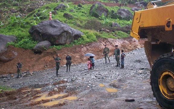 Violación derechos humanos en Panamá en tierras ngobes