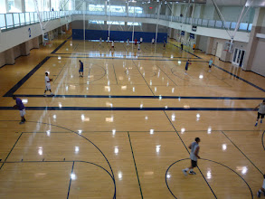 Photo: The ARC gym floor.