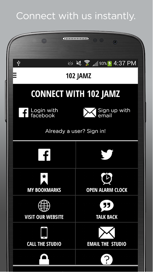 102 JAMZ – The Hip-Hop Station- screenshot