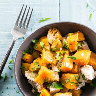 One-Pan Roasted Butternut Squash & Chicken Dinner