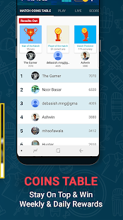 Cricnwin: Live Cricket Scores , Play, Chat for IPL Screenshot