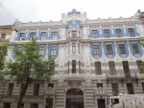 Photo: Riga's collection of Art Nouveau buildings has been recognized by UNESCO as one of the best.