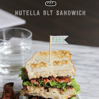 Nutella BLT Sandwich #SundaySupper.